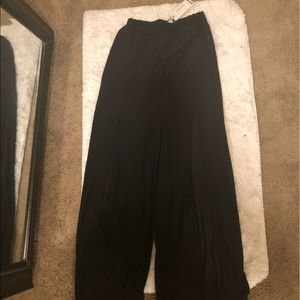 Pants - Split Leg Trousers